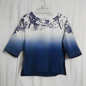 Blue Ombre Top